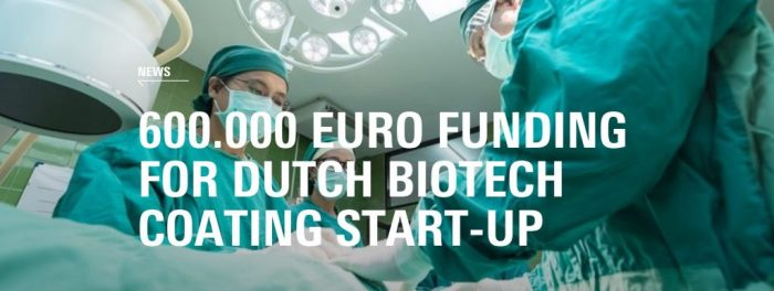600,000 euro funding for LipoCoat