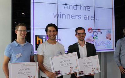 Jasper van Weerd (LipoCoat) winner of best pitch Holland-innovative health event 2015